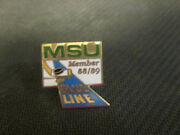 Ncaa-michigan State Spartans 1988-89 Blue Line Member Pin
