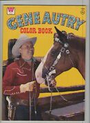 Gene Autry Coloring Book - Western - 1975 Grade 9.2 Wh