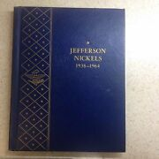 Complete Book Of Jefferson Nickels 1938-1964