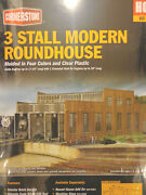Walthers Cornerstone Ho 933-2900 Modern Roundhouse Kit Form Plastic Parts