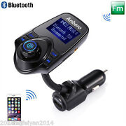 1.44 Lcd Wireless Fm Transmitter Andusb Charger And Handsfree Bluetooth Andmp3 Player