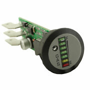 Peel Round 7 Led Indash Gauge Unit To Suit Lpg And Cng Systems