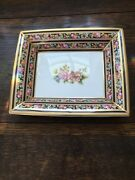 Wedgwood Bone China Clio Trey - Made In England 1992  Perfect Condition