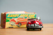 Antique Tin Toy Rare Boxed Cabrio Dandy Friction Bandai Foreign Japanese Car