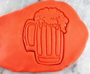 Beer Mug Cookie Cutter Choose Your Own Size Detailed