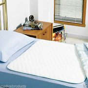 3 New Bed Pads Reusable Underpads 36x54 Hospital Grade Incontinence Washable