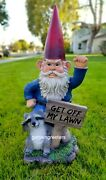Gnome Racoon Statue Gnome Racoon Figurine