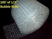 100 Feet Of Bubble Wrapandreg 12 Wide 1/2 Large Bubbles Perforated Every 12 Big