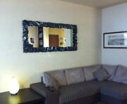 Wrought Iron Design Frame To Mirror Photo. With Or Without Led. Personalized 850