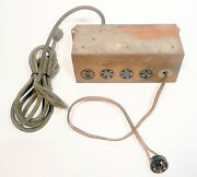 Capehart 113m3fm Record And Radio Tested / Working Junction Box