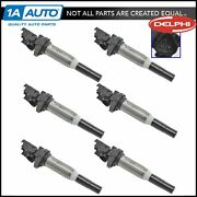 Delphi Gn10571 Engine Ignition Coil Kit Set Of 6 Direct Fit For 11-15 Bmw New