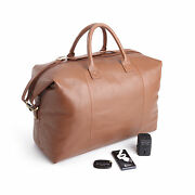 Royce Lightweight Duffel Bag With Bluetooth Portable Power Bank And Adapter