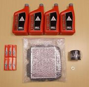 New 2001-2014 Honda Gl1800 Goldwing Oe Complete Synthetic Oil Tune-up Kit