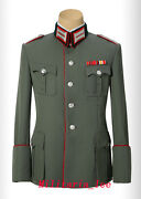 Ww2 Repro German Officer Walking Out Gabardine Tunic5-button All Sizes