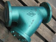 Ever 6 Flanged 125 Lbs.wcb Wye Strainer