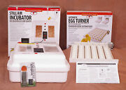 Little Giant Egg Incubator 9300   Auto Turner   Fan   Candler - Poultry Chicken