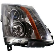 Headlight For 2008-2015 Cadillac Cts Passenger Side W/ Bulb