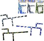 3 Camo Black Blue And Green Color Marshmallow Gun Shooters 22in Long Boys Play Toy