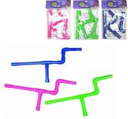 3 Neon Pink Blue And Green Color Marshmallow Gun Shooters 16in Long Boys Play Toys
