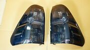 Toyota Hilux Revo M70 M80 2015-16 Black Smoke Lens Tail Lamp Light No Bulbs