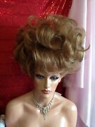 Elite Brand Wigs Stunning Big Up Do Full Curls Bangs Elegant Style All Colors