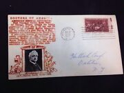 1947 First Day Cover, Doctors Of America, Ama, Nathan Smith Davis, 3 Cent Stamp