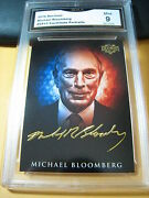 Michael Bloomberg 2016 Decision Candidate Portraits Cp13 Graded 9 L@@@k
