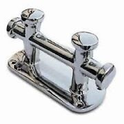 Marine Double Cross Bollard Cleat 316 Stainless Steel For Boat
