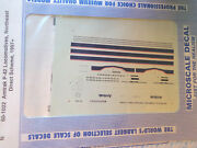 Microscale Decal N 60-1022 Amtrak Dash 8-40bwh P40 And P42dc Diesels 1997-2