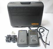 Fluke Networks Dsp-2000 Cable Analyzer W/ Smart Remote Cat5 Lan Tester