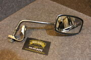 Cafe Chopper Vintage 10mm Clamp Right Side View Mirror Nos