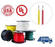 14 Awg Marine Wire Spool Tinned Copper Boat Cable 25and039 Red 25and039 Yellow Usa Made