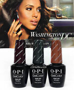 Limited Edition-gelcolor- Opi Washington Dc F/w And03916-pick Any Color/top/base .5oz