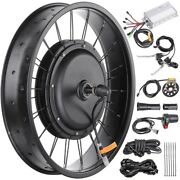 48v 1000w 20 Front Wheel Electric Bicycle Motor Conversion Kit For Fat Tire