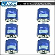 Acdelco Pf454 Oil Filter Kit Set Of 6 For Buick Cadillac Chevy Gmc Olds Pontiac