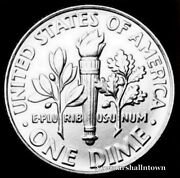 1978 D Roosevelt Uncirculated Dime Raw Coin From Bank Roll