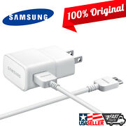 Lot Of 20 Samsung Galaxy S5 Note 3 Wall Home Charger With Usb 3.0 5ft Data Cable
