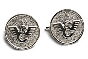 Wilson Combat - 1911 Grip Medallion - Sterling Silver - Set Of 2 - 351mss