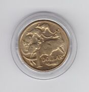 1984 1 Unc Coin In Capsule First Year Issue Dollar Coin In Australia F-700