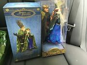 Disney Fairytale Collection Anna And Kristoff From Frozen Limited Edition Doll Set