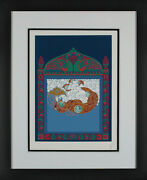 Ertandeacute - Russian Fairy Tale Hand-signed Serigraph Framed
