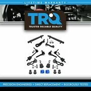 Trq Front Steering Suspension Kit Set For 98-02 Ford Lincoln Mercury Rwd