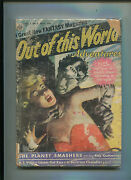 Out Of This World Adventures Vol. 1 1 Avon Comic Pulp Vhtf G-vg