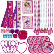 Sofia The First Favor Pack 48pc Birthday Party Supplies Toys Prizes Disney