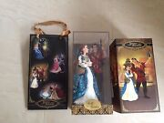 Disney Fairytale Designer Collection Belle And Gaston Limited Edition Doll Set