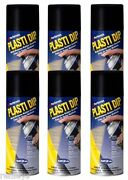 6 Pack Plasti Dip Rubber Coating Performix Aeresol 11 Oz Dipping Car Protection