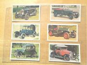 1975 Doncella The Golden Age Of Motoring Antique Car Tobacco 24 Cards Complete