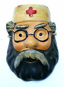 1978 Ussr Russian Soviet Toy Large Size Mask Character Doctor Aybolit