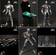Hot Toys 1/6 Mms150 Iron Man Mark Ii 2.0 Armor Unleashed Vip Exclusive Canadian