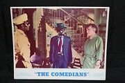 The Comedians Lobby Card - Richard Burton Awakened By Police Officers C-6 1967